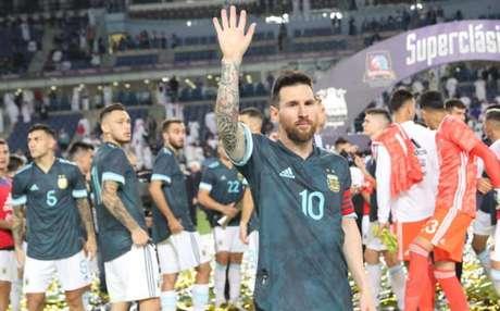 Messi é o principal jogador da seleção da Argentina (Foto: Divulgação Twitter)