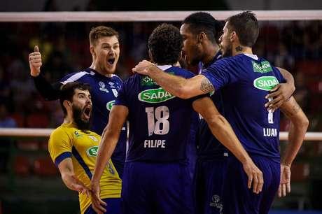 Cruzeiro venceu o América-MG com tranquilidade pela segunda rodada da Superliga (Foto: Cruzeiro)