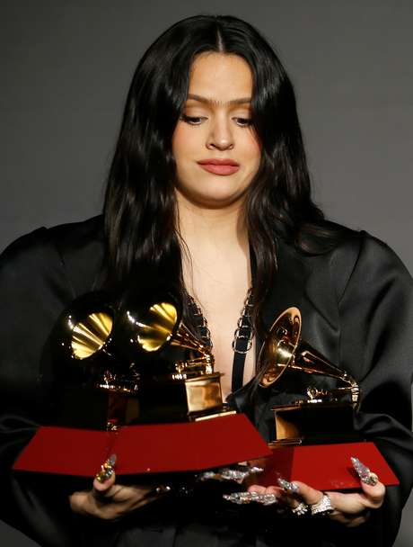 Rosalia foi a grande vencedora da noite
