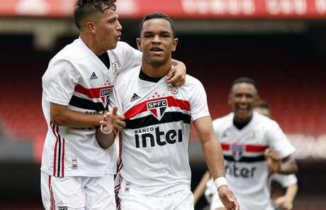 Juan comemora seu gol na vitória tricolor - FOTO: Anderson Rodrigues/São Paulo FC