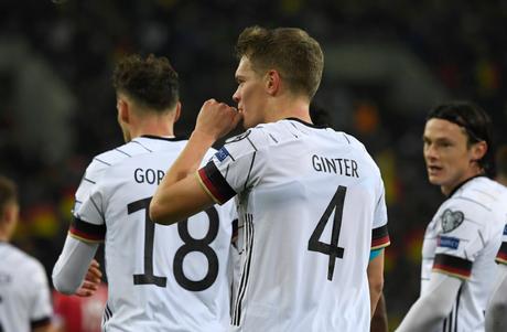 Ginter abriu caminho para a goleada alemã (Foto: Divulgação/Alemanha)