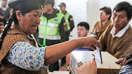 A OEA fez um auditoria dos resultados das eleições feitas em 20 de outubro