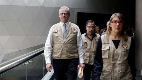 Observadores internaciomais da OEA mostraram preocupação com o processo de recontagem de votos
