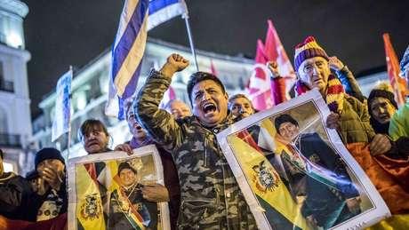 Organizaçõs condenaram excesso de violência contra protestos de defensores de Morales em La Paz