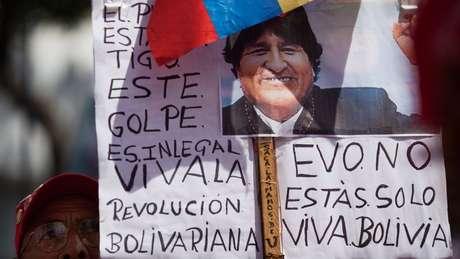 O governo da Venezuela convocou a uma marcha de apoio a Evo Morales para o mesmo dia que Guaidó chamou a oposição venezuelana para as ruas