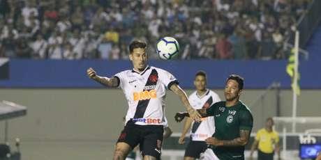 Marcos Junior foi o autor da vitória do Vasco sobre o Goiás no primeiro turno do Brasileiro (Divulgação/CBF)