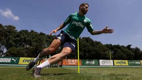 Zé Rafael jogará na Fonte Nova pela primeira vez após trocar o Bahia pelo Palmeiras (Agência Palmeiras/Divulgação)