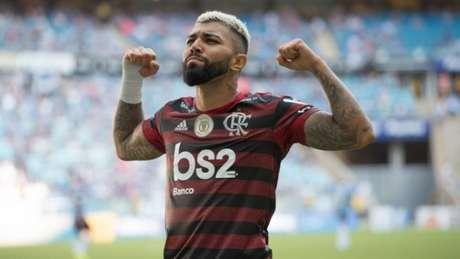 Gabigol foi o personagem do jogo em Porto Alegre