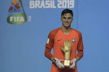Titular da Seleção, Matheus Donelli sofreu seis gols em sete jogos na competição (Foto: Alexandre Loureiro/CBF)