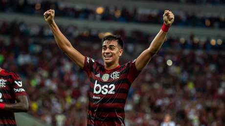 Reinier renovou contrato com o Flamengo até 2024 (Marcelo Cortes/Flamengo)