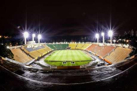 Santos só deve voltar a jogar no Pacaembu em 2020 (Foto: Fernando Dantas/Gazeta Press)