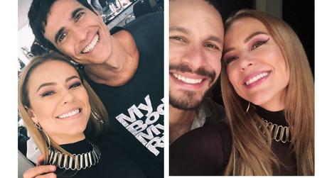 Paolla Oliveira com Régis e Teo (Foto: Reprodução/Instagram/@paollaoliveirareal)