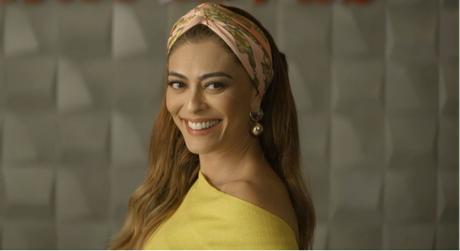 Juliana Paes como Maria da Paz (Foto: TV Globo/Reprodução)