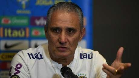 Tite afirmou que não está satisfeito com o desempenho da Seleção (Pedro Martins/MowaPress)