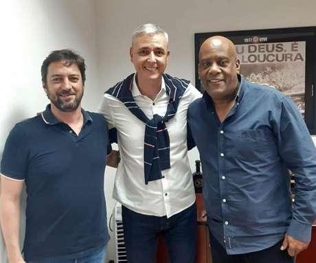 Tiago Nunes visitou o Parque São Jorge e o CT Joaquim Grava (Reprodução/Instagram)