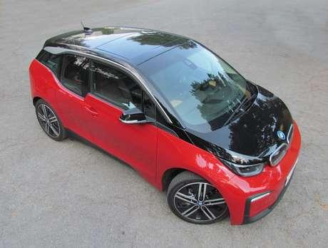 O BMW i3 é compacto e muito fácil de manobrar.