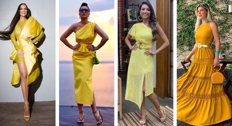 Famosas de amarelo (Fotos: Instagram/Reprodução)