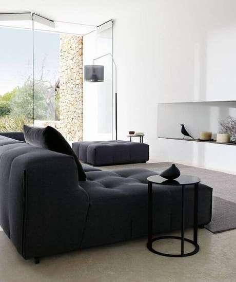 36. Modelo moderno de sofá sem braço para decoração de sala ampla e moderna – Foto: ArchiExpo