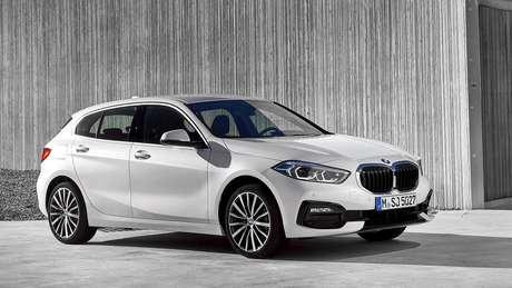 O novo Série 1 compartilha a plataforma com o BMW X1 e X2.