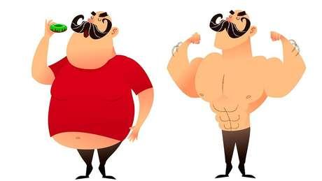 'A maioria dos estudos mostra que, embora os homens inicialmente percam peso mais rapidamente, as diferenças são compensadas ao longo do tempo', diz Tom Little.
