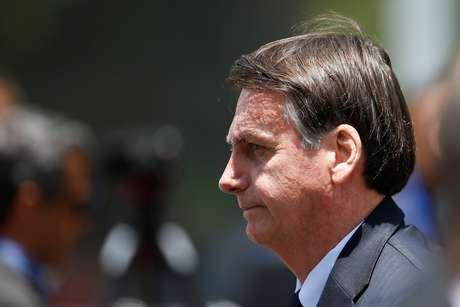 Bolsonaro participa de reunião no Ministério da Defesa, em Brasília 04/11/2019 REUTERS/Adriano Machado