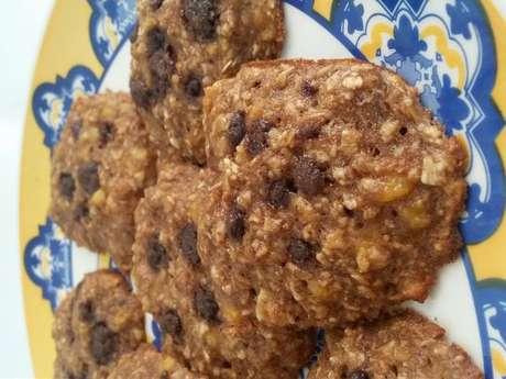 Cookie sem açúcar e sem glúten