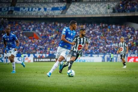 Cruzeiro venceu o Santos no primeiro turno (Foto: Vinnicius Silva/CEC)