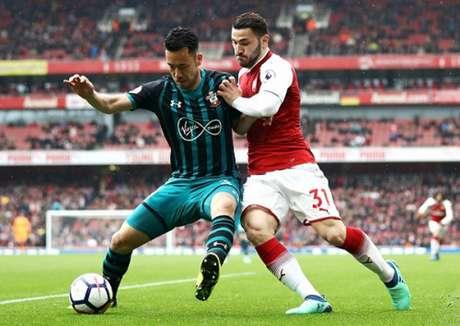 Duelo entre Arsenal e Southampton pode fazer cabeças rolarem (Foto: Reprodução / Twitter)