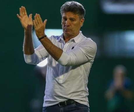 Renato negocia com o Grêmio para continuar no cargo de treinador (Foto: Divulgação/Lucas Uebel)
