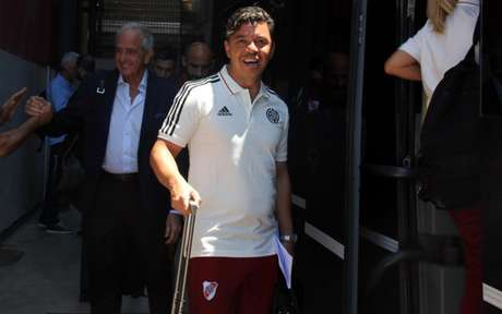 Gallardo confirma time para final - (Foto: Divulgação/River Plate)