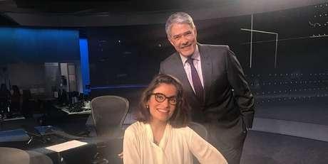 William Bonner e Renata Vasconcellos, âncoras do Jornal Nacional, um dos produtos de maior audiência e faturamento da Globo