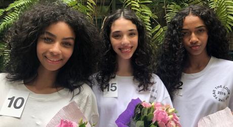 As três finalistas: Graziella, Lana e Pamela (Foto: Rosângela Espinossi)