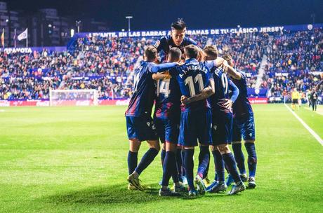 Levante venceu o Mallorca em jogo de muito equilíbrio (Foto: Reprodução)