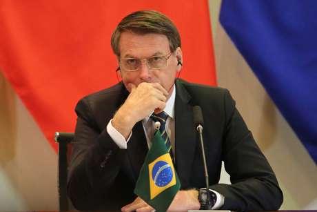 Presidente Jair Bolsonaro em encontro com os BRICS, em Brasília