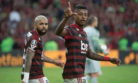Gabigol e Bruno Henrique foram os destaques da campanha do Flamengo (Foto: Alexandre Vidal/Flamengo)