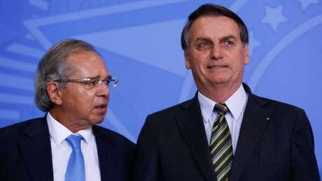 Programa Verde Amarelo foi lançado pelo ministro Paulo Guedes e pelo presidente Jair Bolsonaro no Palácio do Planalto