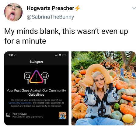 Post removido: artistas pornô dizem que mesmo imagens como a foto acima são constantemente consideradas inadequadas