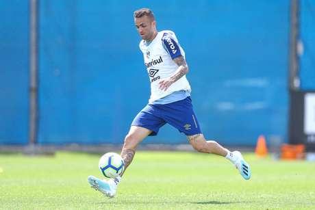 Luan tem contrato com o Grêmio até o fim de 2020 (Foto: Lucas Uebel/GFBPA)