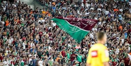 Fluminense cria campanha para empurrar o time contra o Palmeiras (Lucas Merçon / Fluminense F.C.)
