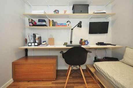 30. A cadeira eames é linda enquanto elemento decorativo. Projeto de Condecorar Arquitetura e Interiores