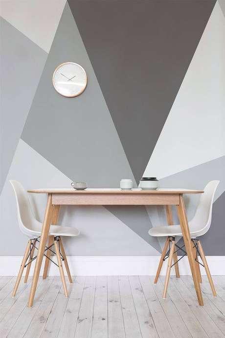 23. A cadeira eames de cor branca é delicada. Foto: Revista Viva Decora.