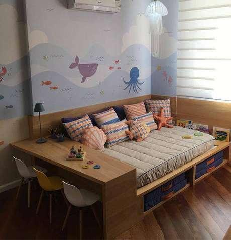 19. A cadeira eames combina muito com cômodos infantis. Foto: Revista Viva Decora.