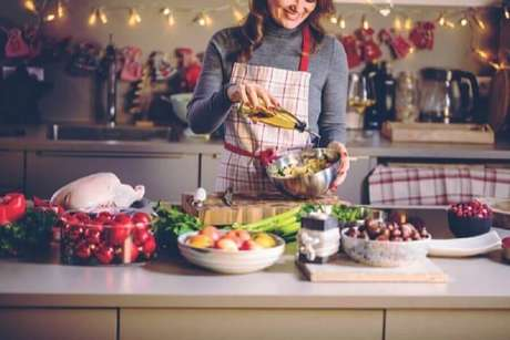 6. Faça um menu especial para a sua festa de Natal – Foto: Shutterstock