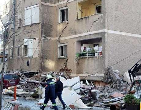 Efeitos de terremoto na Albânia