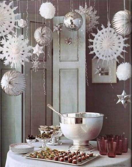 13. Decoração para festa de Réveillon – Foto: Pinterest