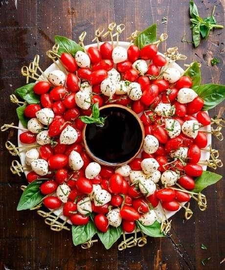 7. Faça petiscos para ser servido antes da ceia de Natal – Foto: Pinterest