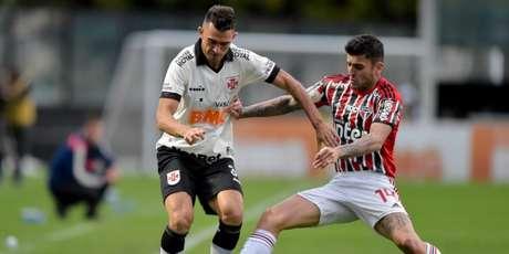 Vasco e São Paulo se enfrentaram pelo primeiro turno do Brasileirão-2019 (Foto: Divulgação/CBF)