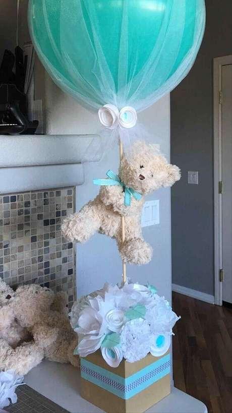 46. Modelo de lembrancinha para chá de bebê, uma decoração de chá de bebê – Foto: Baby Shower