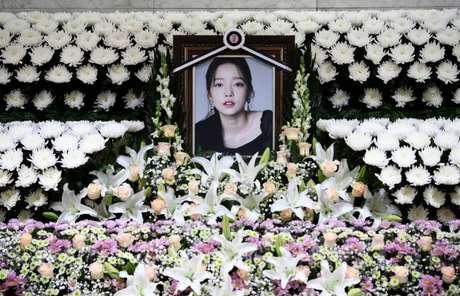 Memorial para a cantora de K-pop Goo Hara