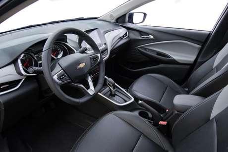 Interior do novo Chevrolet Onix.
